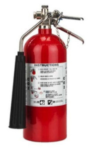 2 1/2 lb. Hand Portable Fire Extinguisher with Vehicle Bracket