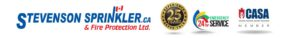 Stevenson Sprinkler - 25 years in business, 24/7 Emergency Service, Members of CASA